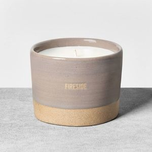 Hearth And Hand Magnolia Ceramic Fireside Candle